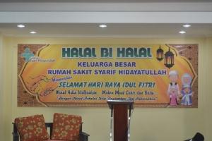 Halal Bihalal Keluarga Besar Rs. Syarif Hidayatullah