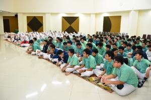 SOSIALISASI COVID-19 DI MADRASAH PEMBANGUNAN UIN JAKARTA