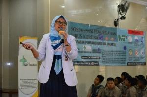 SOSIALISASI KE-3 MP UIN SYARIF HIDAYATULLAH JAKARTA TENTANG KEWASPADAAN COVID-19